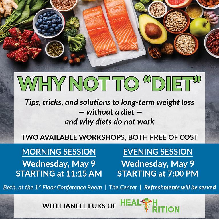 FREE Health Workshop