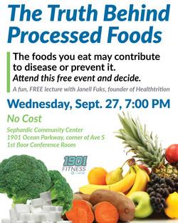Foods Seminar