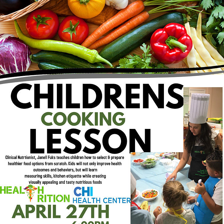 Children's Cooking Lesson