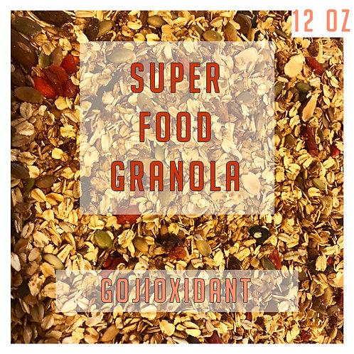 Superfood Gojioxidant Granola 12 Oz