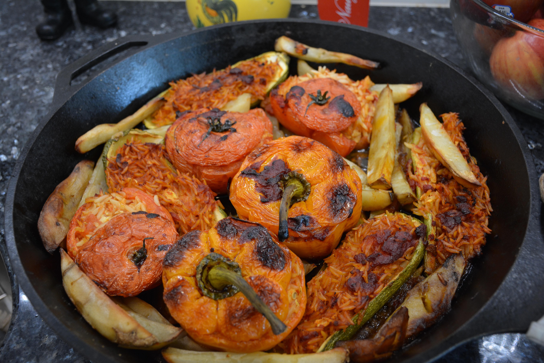 Yemista (stuffed veggies)
