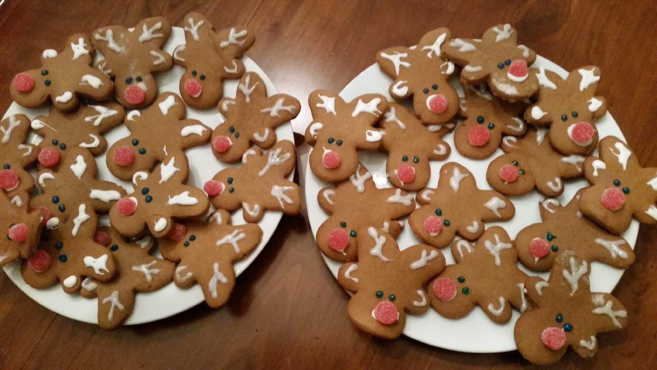 Debra's Gingerbread Reindeer