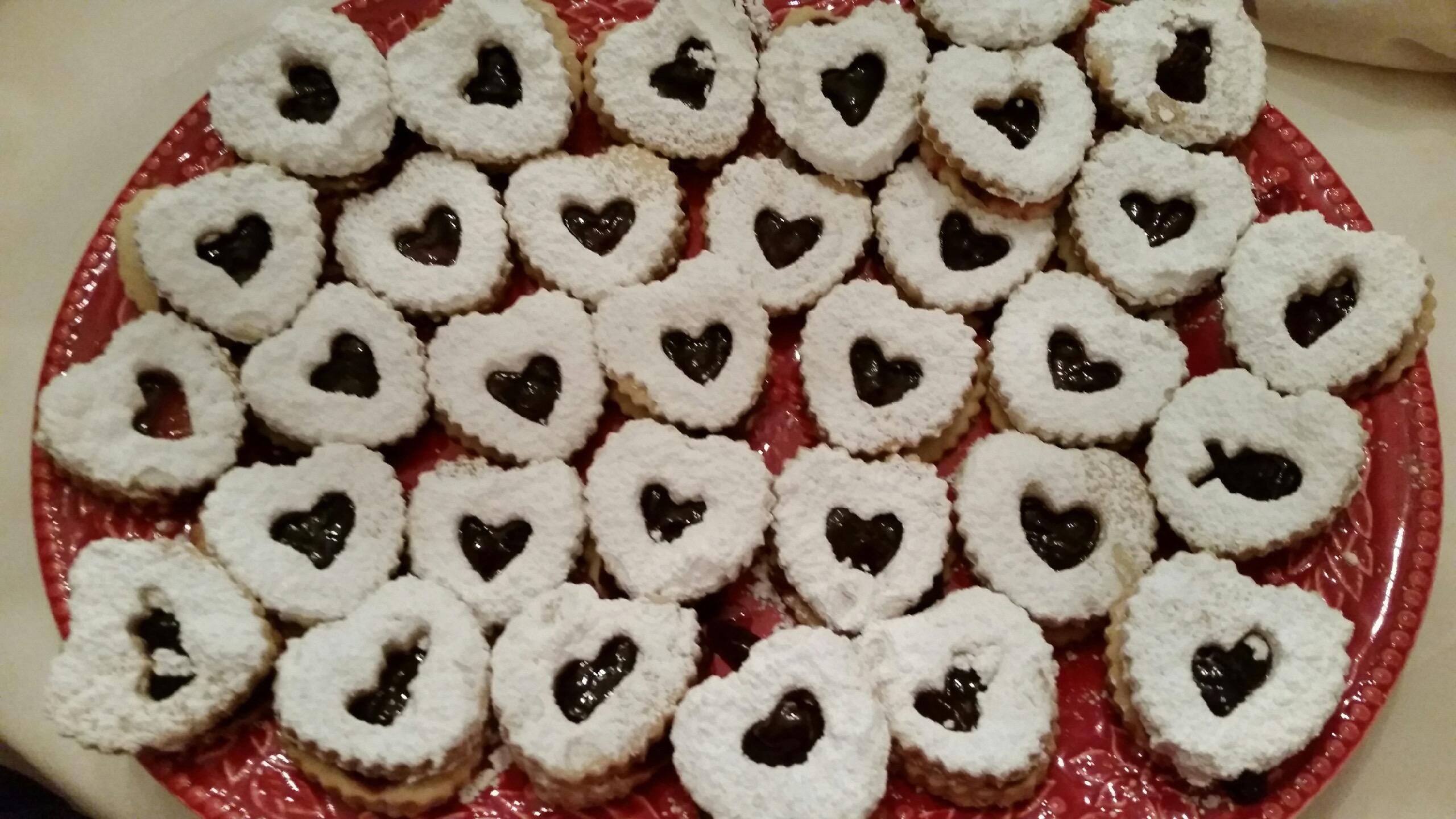Debra's Linzer Hearts