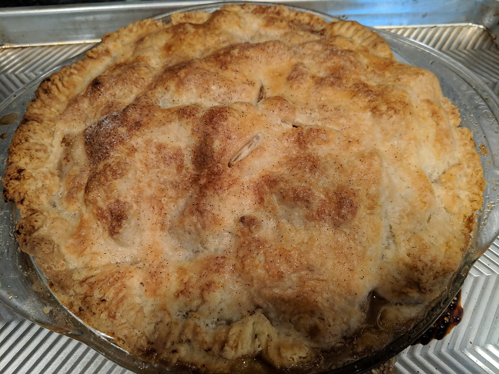 Just out of the oven . . .