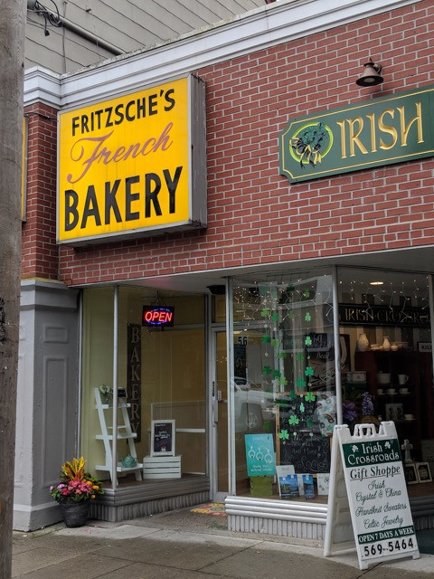 Frtitzsche's is on 56 Main Street, Sayville