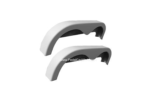 Pedal Car Trailer Fiberglass Fenders