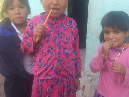 A la 'antigüita', regreso a clases de 25 mil alumnos indígenas