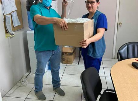 Dona WS Molding caretas para hospitales públicos