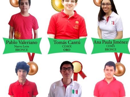 Jóvenes matemáticos vuelven a brillar en la OIM
