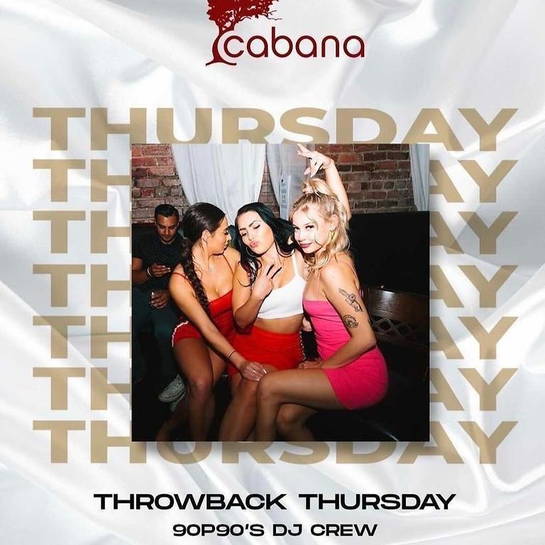 Throwback! Thursday