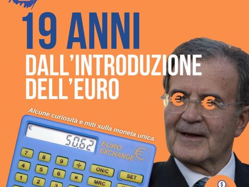 19 anni dall'introduzione dell'euro