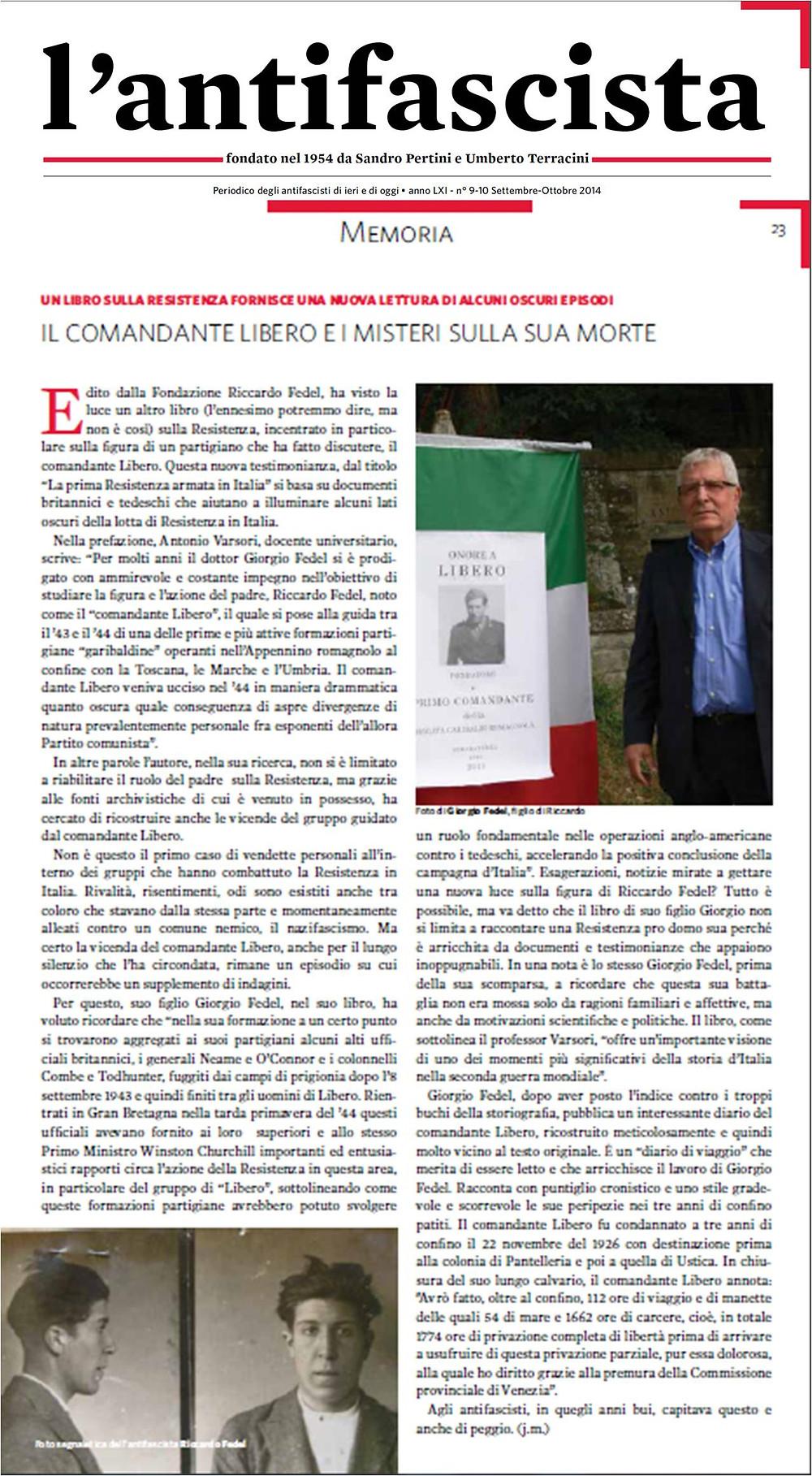 L'antifascista- recensione saggio Giorgio Fedel.jpg