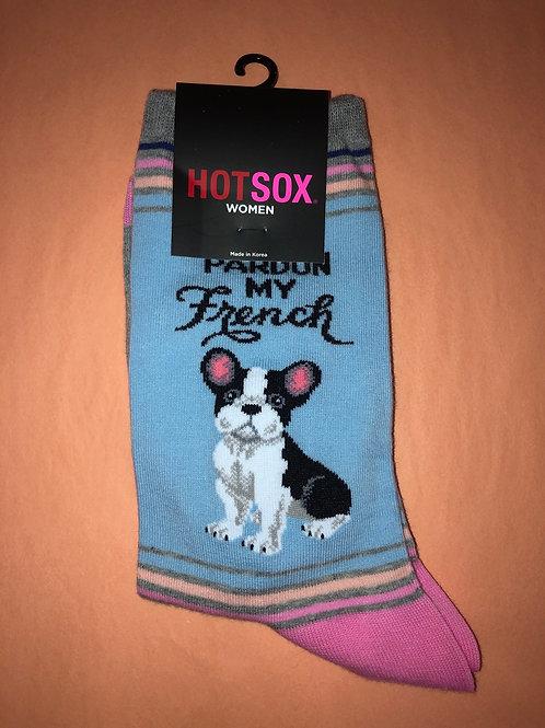 French Bulldog Women's Socks