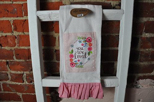 Pink Tea Towels