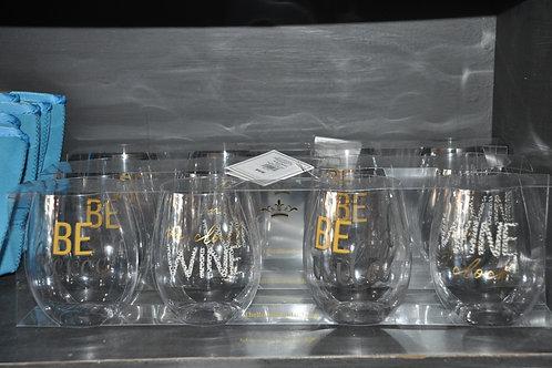 Wine O'Clock Wine Glasses
