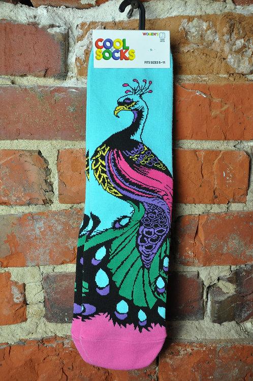Women's Peacock Socks