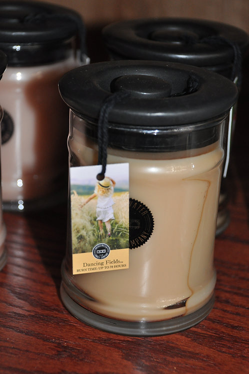 Dancing Fields Small Candle