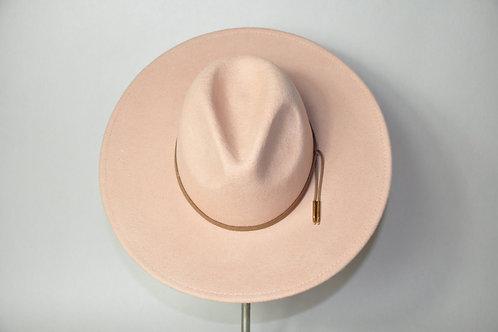Cream Suede Hat