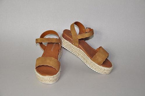 Tan Sandal Wedges