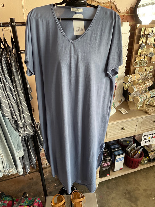 Indigo T-Shirt Maxi Dress