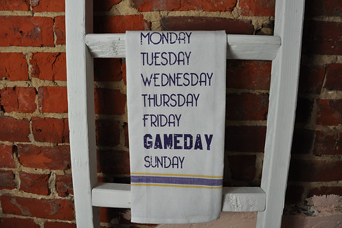 Gameday Tea Towel
