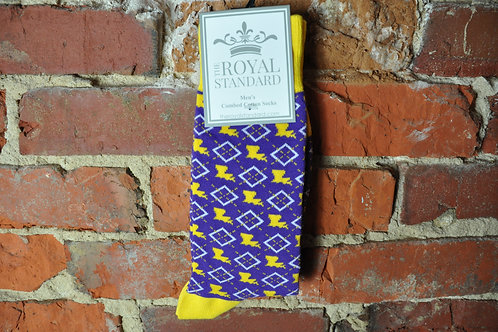 Men's Louisiana Pride Socks