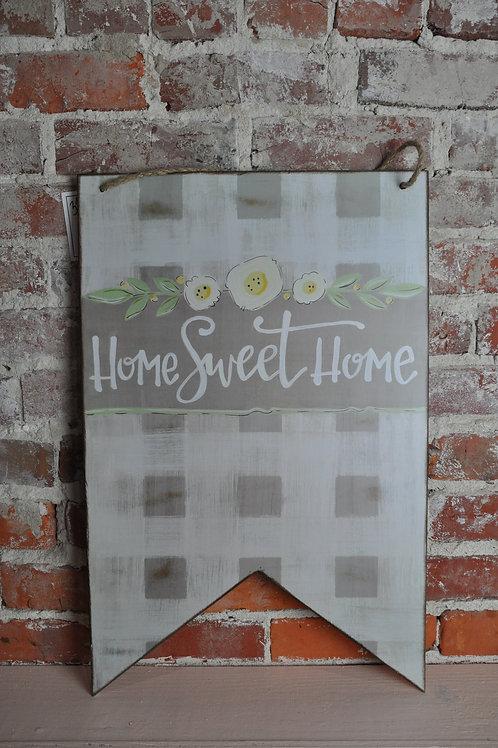 Home Sweet Door Hanger