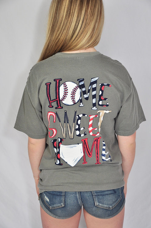 Home Sweet Home Baseball Tee