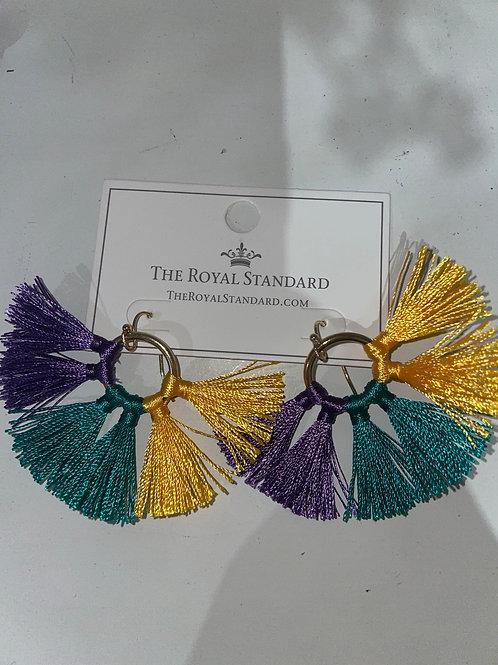 Bon Temps Tassel Earrings