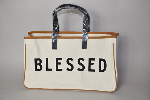 Canvas Tote Bag with Phrase