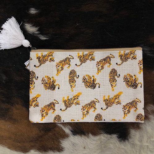 Tiger cosmetic bag