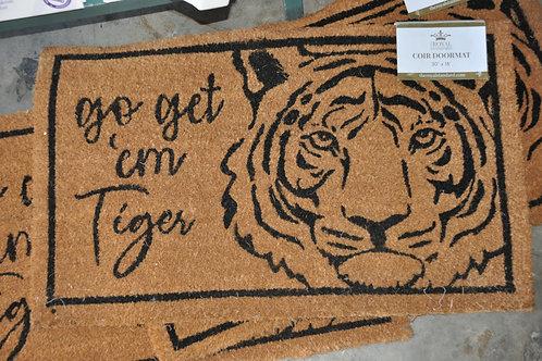 Go Get Em' Tiger Mat