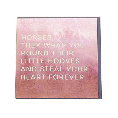 Gubblecote Card - Little Hooves