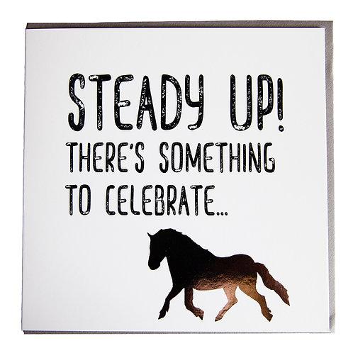 Gubblecote Card - Steady Up