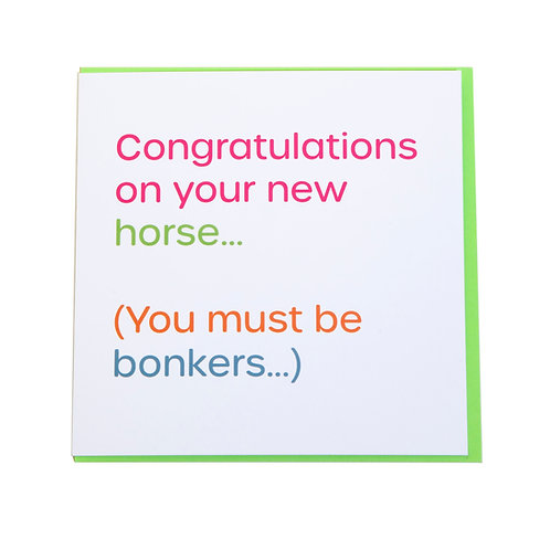 Gubblecote Card - Bonkers