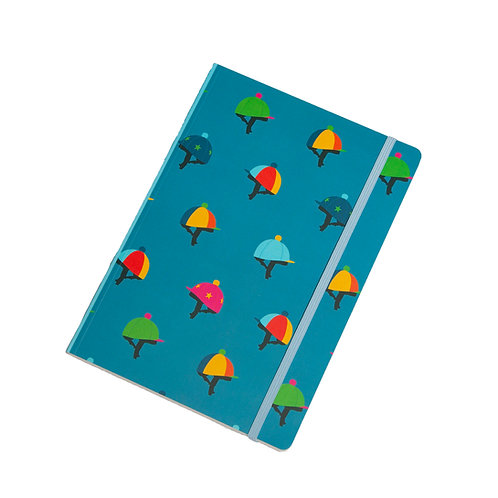 Hat Silks Perfect Bound A5 Lined Notebook