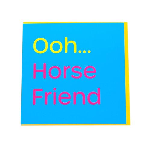 Gubblecote Card - Horse Friend