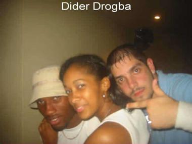 Dider Drogba (Chelsea FC & Ivory Coast).
