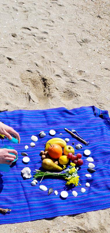 Playa Compostela  en Vilagarcía de Arousa (Galicia-España)