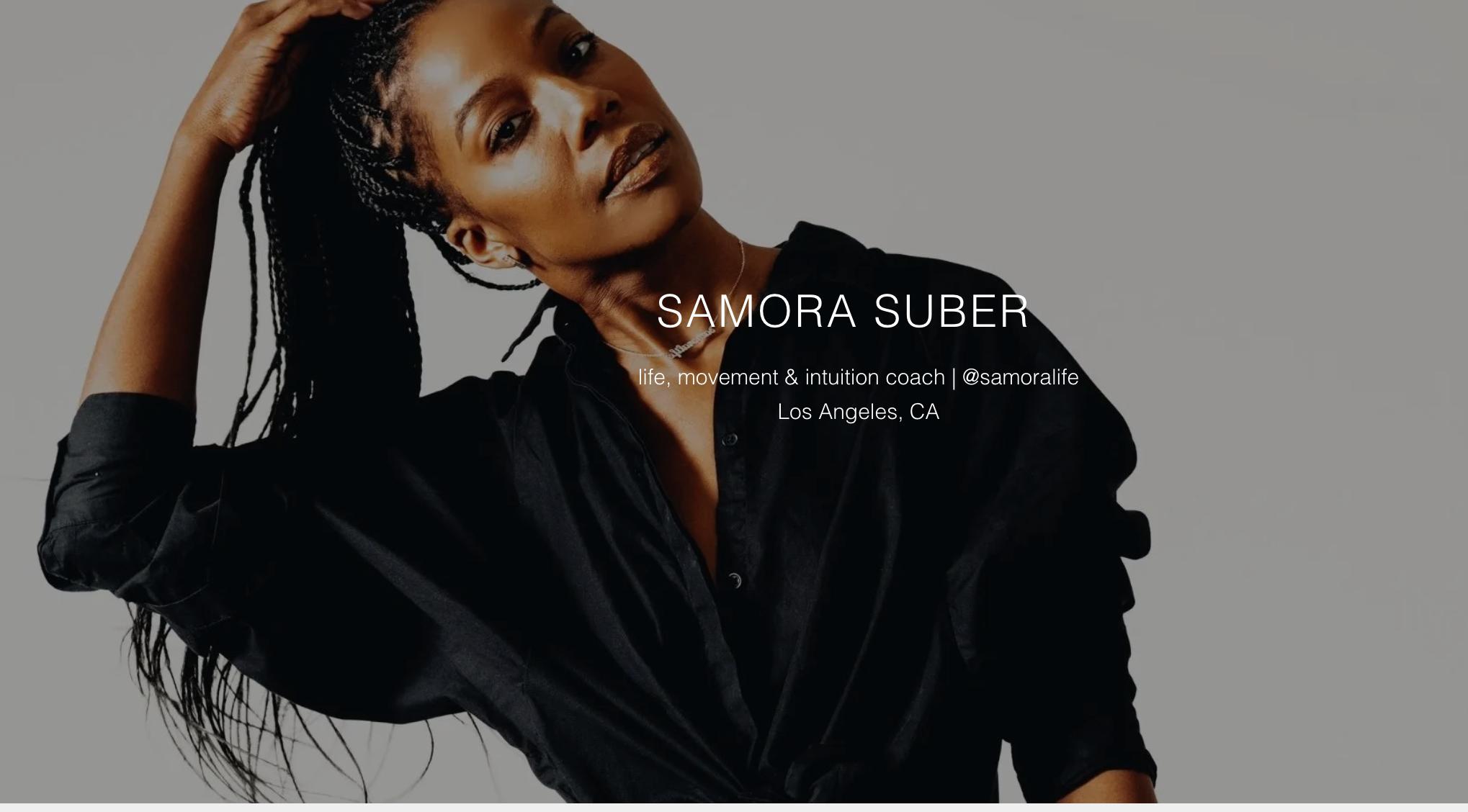 EVOLVER | SAMORA SUBER