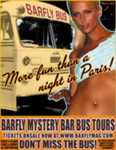 BarFly Bus Tour Private Party Charter Info