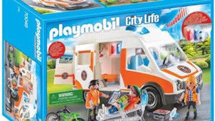 Playmobil Ambulance et Secouriste