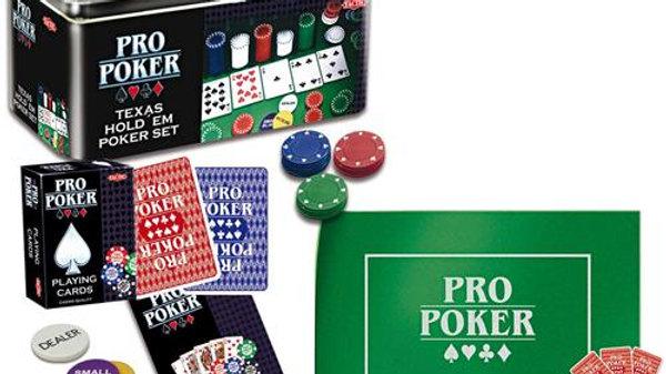 Pro poker Coffret Métal