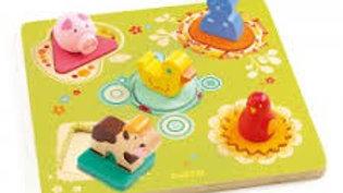 Puzzle Bois 1er Age Djéco