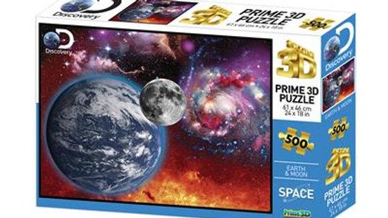 Puzzle 3D 500 Pièces l'espace