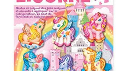 4M Kit de moulage licornes