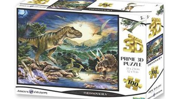 Puzzle 3D Dinosaures 100 Pièces