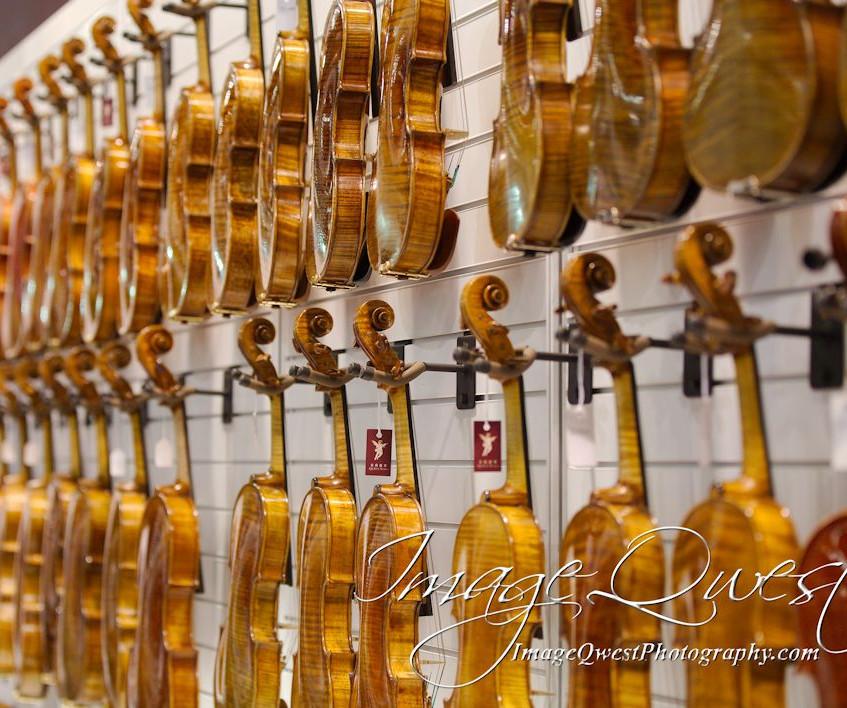 Wall of Violins