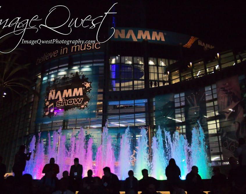 NAMM at Night