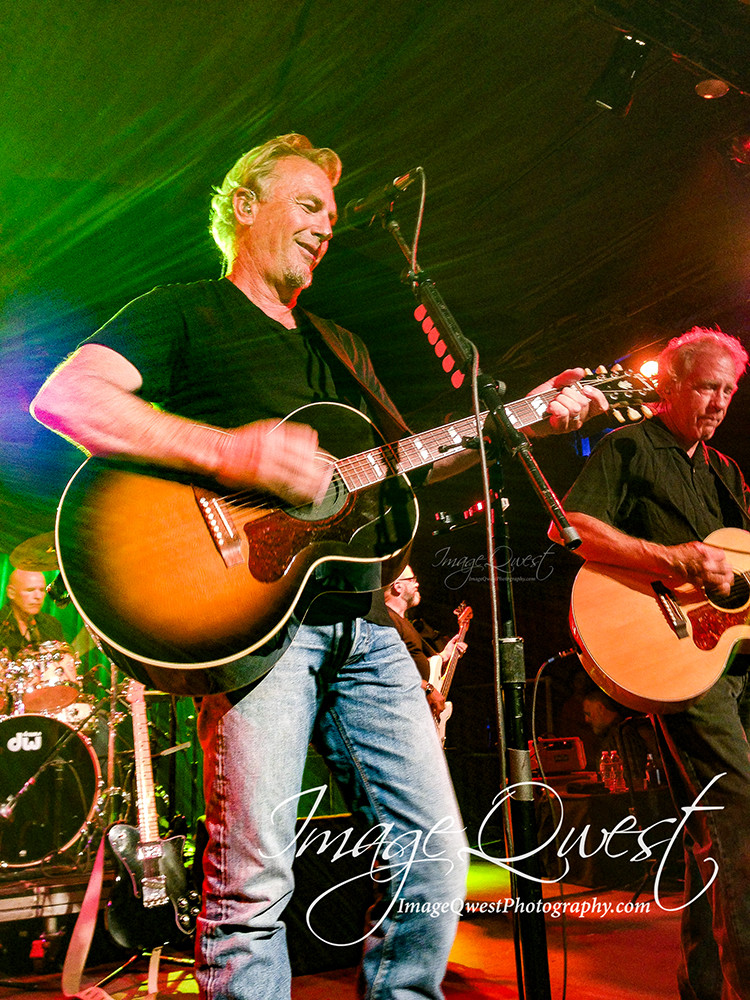 Kevin Costner & Modern West play at the Belly Up Tavern on August 11, 2015